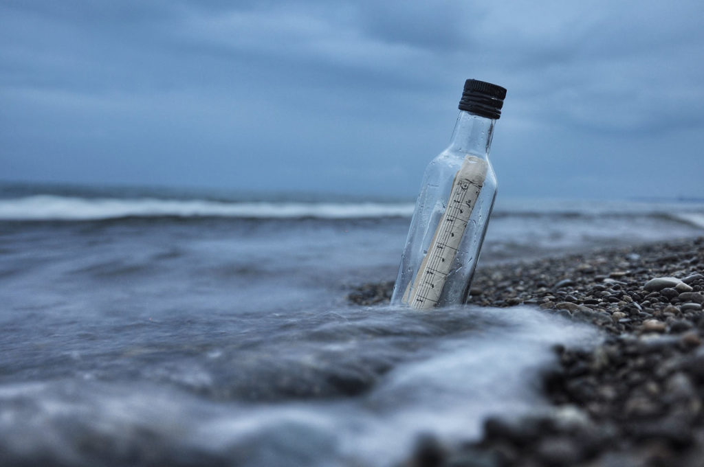 message-in-a-bottle